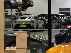 Aston Martin Vanquish Zagato (steven.barker57) Tags: aston martin vanquish zagato newport pagnell showroom new rare supercar uk england