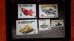 which one is you guys favorite? (benhardy5) Tags: lego brickmania kitsnew ww1 ww2 fokker