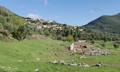 The ruins of ancient Messini (roomman) Tags: 2017 greece peloponnes peninsular messini messenae ruin ruins ancient kalamata lostplace lost place greek mythology city town old messene centre excarvation villag etown country countryside landscape nature outside