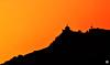 Morning sky contrast (Aniruddha1978) Tags: sky fort contrast orange grey nature shadow