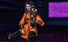 Fuzzy feeling (ᗩndᗴrian ᔕugarplum) Tags: villena kustom9 blackbantam ncore saga randommatter secondlife sl secondlifefashion anderiansugarplum lelutka