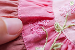 Handmade Embroidered Dresses (Ylang Garden) Tags: handmade embroidery latiyellow pukifee embroidered