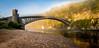 Pano cr br 2 (Schoon17) Tags: craigellachie bridge autumn misty spey moray