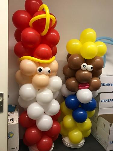 Ballonpilaar Sint en Piet Pels Rijcken & Droogleever Fortuijn Den Haag