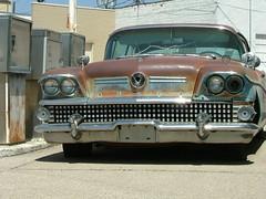 Fill-er-up (jHc__johart) Tags: buick kansas paaolaks auto automibile gaspumps vehicle building
