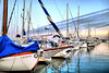 While the clouds are passing by  1/3 (Fnikos) Tags: port puerto harbour water waterfront sea mar boat sailboat sky skyline cloud sidewalk vehicle sunset outdoor