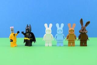 LEGO Monochrome bunnies🎨