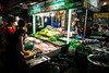 Fresh street diner (Phg Voyager) Tags: thailand bangkok street food girls fish light night urban streetscape color outdoor leica mp 24mm summilux phgvoyager cool fun photography asia cooking cook vegies greens kitchen customers tables eating dining chinatown thai siam evening diner