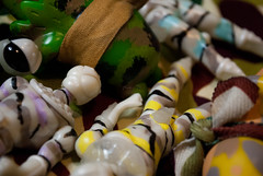 Designer Con 2017 Camo. (Nicholas Fung) Tags: toy toys toypizza pizza onell design glyos kots knights slice action figure figures designer con dcon 2017 camo camouflage super sentai tokusatsu power rangers hob frog softvinyl sofuvi japanesetoys vinyltoys ソフビ