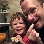 "Kyle and Elliott eating breakfast together <a style=""margin-left:10px; font-size:0.8em;"" href=""http://www.flickr.com/photos/124699639@N08/26511683679/"" target=""_blank"">@flickr</a>"