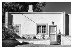 White Walls (Daniela 59) Tags: house walls white whitewalls building windows shadows calvinia northerncape southafrica wednesdaywalls 7dwf thursdaythemebwandsepia danielaruppel