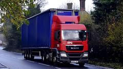 DG64 JXO (Martin's Transport Photography) Tags: man tgx truck wagon lorry vehicle commercial transport freight haulage curtainsider xpo xpologistics appletonthorn cheshire nikond7200 nikon