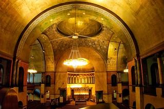 \Buffalo - New York - The First Presbyterian Church - Altar  - Ceiling