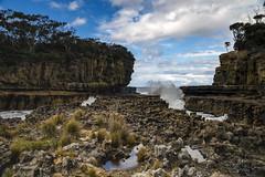 Fossil Island I (Raymond.Ling.43) Tags: sony a7rii australia spring oct tasmania fossilisland wave bluesky reflection