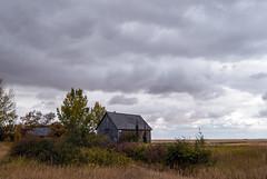 2017-09-15_14-28-25 Prairie Farmstead (canavart) Tags: prairie alberta nanton canada couttscentreforwesterncanadianheritage landscape clouds storm farm fields rustic farmhouse