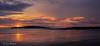 Sunrise pano (Leo Bissett) Tags: sunrise island lambay rush cloud sky cold beach sand sea morning panorama ireland