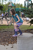 Jump! (Vegan Butterfly) Tags: kid child person cute adorable vegan park fun outside outdoor homeschool homeschooling action jump jumping