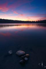 {Explore 08/12/2017} Lac de Servières // Auvergne (www.didierbonnettephotography.com) Tags: bleu bluehour heurebleue lake lac servieres auvergne france canon le longexposure poselongue 5dmkii landscape paysage paysagenature roches pierres