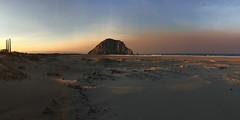 Dawn in Morro Bay (morrobayrich) Tags: thomasfire smoke dawn morrorock beach forestfire