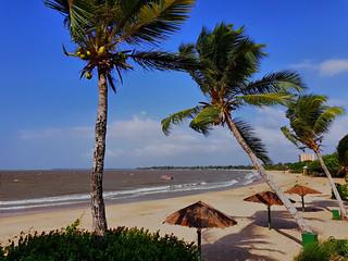 Praia em Mosqueiro.