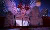 Sleigh Ride (Niki Wirefly) Tags: fae fairy fairey faerie male fantasy couple colour secondlife men people lufian wings holidays niki love sl snow