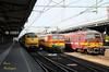 2009 | NMBS 1184 en 826 te Roosendaal (Arno Verhagen) Tags: mat64 benelux reeks11 ns nmbs am75 roosendaal