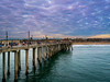 Huntington Beach Pier (meeyak) Tags: hb huntingtonbeach oc orangecounty pier people storm rainstorm clouds cloudy ocean sea seascape landscape beach blue sunset california meeyak sony a7r2 28mm travel vacation outdoors adventure usa