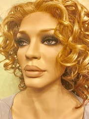 Rootstein Mannequin (capricornus61) Tags: display mannequin shop window doll dummy dummies figur puppe schaufensterpuppe art home face body indoor hair wig woman women female feminine weiblich beauty bauties