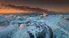 Flirting with disaster (Mika Laitinen) Tags: canon5dmarkiv europe iceland jökulsárlón leendgrad beach cloud cold ice landscape ocean outdoors sea seascape sky sunrise water wave