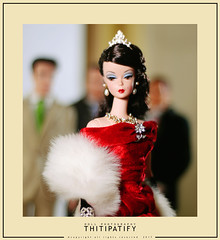 RED DIVA 1956 (thitipatify) Tags: silkstone studio robertbest gown glamour glam toy fashion magazine barbie ball doll diorama dress dior