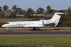N585DW | Gulfstream G550 | Colleen Corp (james.ronayne) Tags: n585dw | gulfstream g550 colleen corp aeroplane airplane plane aircraft jet bizjet biz bizav businessaviation aviation flying corporate corpjet executive execjet exec vip private luton ltn eggw canon 80d 100400mm raw