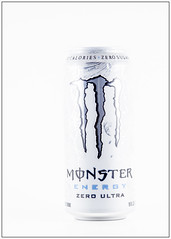 White Energy (Me in ME) Tags: monsterenergy lightbox productbox blackonblack