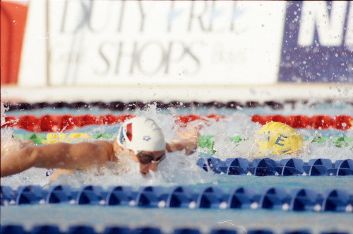 525 Swimming EM 1991 Athens