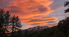 Orographic Sunset (mtnjoebv) Tags: