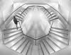 El bucle existencial. / The existential loop. (Oscar Martín Antón) Tags: bnw blancoynegro blackandwhite arquitectura arquitecture herzog meuron simetría symmetry reflective metal glass cristal reflejo escalera stair simbolico surrealismo diseño symbolic surrealism design onírico sueño dream bucle loop conceptual geometría geometry line lineas madrid españa spain caixa forum diamante diamond