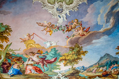 Steinerner Saal (Tony Shertila) Tags: 20170827132946 germany nymphenburgpalace schlossnymphenburg wittelsbach architecture baroque bavaria building canal clouds estate europe fountain gardens indoor lake munchen munich palace sky woodland münchen bayern deutchland estace room tourist painting decoration fresco deu