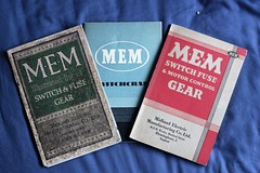MEM Trade Catalogues (slaterspeed) Tags: mem eaton electric electrical midland manufacturing tyseley abandoned derelict closed demolition