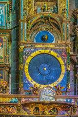 The Astronomical Clock (a7m2) Tags: clock astronomie technik history cathedral strasbourg notedame mathematik watchmakers switzerland