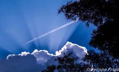 Risk in sky (Felippe Frigo) Tags: nikon photography felippe frigo photo brazil brasil ceu azul bluesky nuvens clouds sky