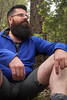 IMG_6975 (DesertHeatImages) Tags: red aedan del sol arizona mountains woods bear hairy chest belly legs lgbtq hiker furry