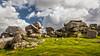 Dartmoor 05 (L I C H T B I L D E R) Tags: rocks stones steine felsen england sheepstor dartmoor hill hügel sky hiking climbing klettern wandern devon landscape landschaft himmel gras abhang