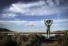 IMG_1846 (ibzsierra) Tags: ibiza eivissa baleares canon 7d 1740usm cielo azul blue sky salinas parque natural salinero estatua nube cloud