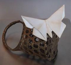 Lisle, IL, Morton Arboretum, Origami in the Garden, Butterfly Sculpture (Sculptor: Kevin Box) (Mary Warren 10.4+ Million Views) Tags: lisleil mortonarboretum nature fauna butterfly origami art sculpture kevinbox