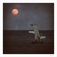 IMG_1688-Edit-Edit-2-Edit-Edit (zaom80) Tags: eos760d canon canon70200f4 blackandwhite monochromatic sea moon squareformat rhodes greece steppingstone