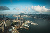 Hong Kong city aerial view with urban skyscrapers, View from Sky 100, Hong Kong (Patrick Foto ;)) Tags: 100 aerial architecture asia background beautiful blue building business center china city cityscape day destination district downtown finance harbor harbour hong hongkong island kong landmark landscape majestic metropolis modern office panorama panoramic peak port scene scenery sea sightseeing sky skyline skyscraper tourism tower travel urban victoria view kowloon hk