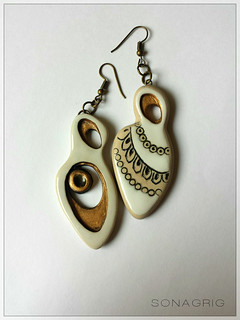 SG #polymerclay #earrings #sonagrigoryan #matryoshkas