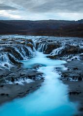 Brúarfoss Waterfall, Iceland (liewjw) Tags: waterfall iceland