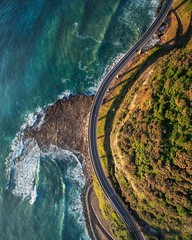 The bend (Jay Daley) Tags: ultrawide wideangle 12mm a7r2 sony m600 matrice dji australia nsw seacliffbridge dronephotography drone aerialphotography aerial