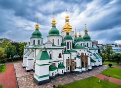 Saint Sophia's Cathedral - Kiev (lucien_photography) Tags: kyiv kyivcity ukraine ua kiev cathedral orthodox church saintsophia architecture monument unesco україна soe