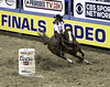0246937467-95-Cowgirl Barrel Racing at the 2017 National Finals Rodeo-11-Black and White (Jim There's things half in shadow and in light) Tags: 2017 america american lasvegas nfr nationalfinals nevada rodeo southwest thomasandmack usa unitedstates action animal cowboy december sports western barrelracing